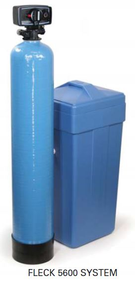 56/16TB-24-C500-FR - Fleck 5600 Time Based Water Softener W/ Fine Mesh Resin