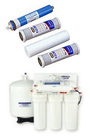 Residential Reverse Osmosis Systems - Parts - Membranes - Faucets